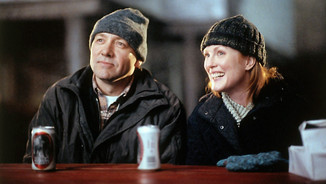 "Kevin Spacey i Julianne Moore a ""Lligant caps""."