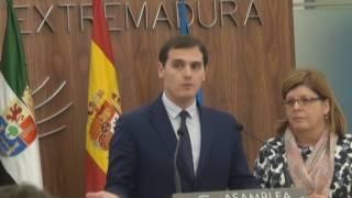Declaracions Pablo Iglesias i Albert Rivera