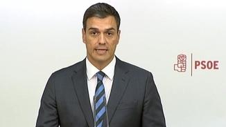 El secretari general del PSOE, Pedro Sánchez