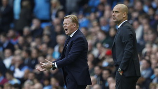 El City de Guardiola ha empatat a 1 amb l'Everton de Koeman (Reuters)