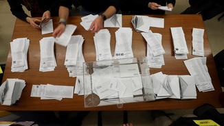 Moment de la votació del 21 D