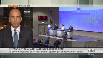Espanya s'escapa de la congelació de fons