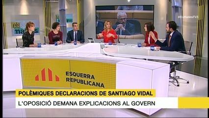 La taula final (1/2) del 27/01/17 sobre les declaracions de Santiago Vidal