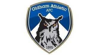 L'escut de l'Oldham Athletic