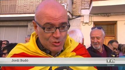 Emotiu homenatge de Vallfogona de Balaguer a la consellera Serret