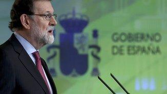 Rajoy anuncia la data de constitució del Parlament: el 17 de gener