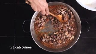 Arròs d'ànec i salsafins en 1 minut