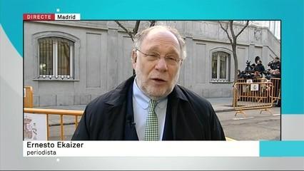 """Ernesto Ekaizer: """"Tota la dreta espanyola s'ha llançat contra Torrent (...) Matonisme pur, màfia pura"""""""