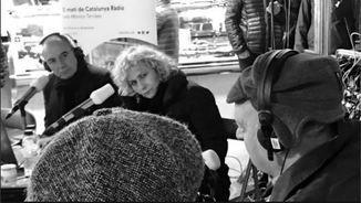 Quimi Portet, amb Terribas, Sisa i Garriga, a l'especial de la Boqueria