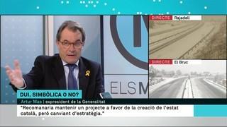 """Artur Mas: """"Perquè l'estat català pugui ser una realitat, cal un canvi d'estratègia"""""""