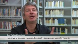"""Éric Vuillard presenta a Barcelona """"L'ordre del dia"""", amb què va guanyar el Goncourt"""
