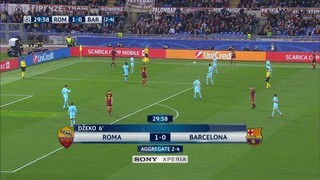 AS Roma, 3 - FC Barcelona, 0