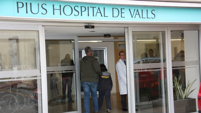 Un home es crema a l'estil bonze a Valls