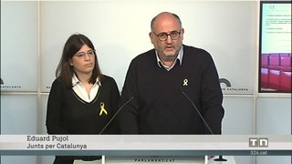 Discrepàncies entre Junts per Catalunya i Esquerra pel Tribunal d'Estrasburg i per la llei de presidència