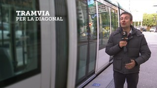 Més de la meitat dels ciutadans de l'àrea metropolitana, a favor del tramvia per la Diagonal