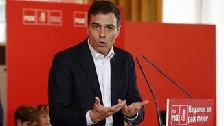 """Pedro Sánchez, sobre Puigdemont: """"Ha violentat l'Estatut i el conjunt d'Espanya"""""""
