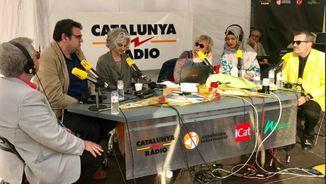 Xavier Sala i Martín, Míriam Hatibi, Mònica Terribas, Maria Bohigas, Jordi Puntí i Màrius Serra