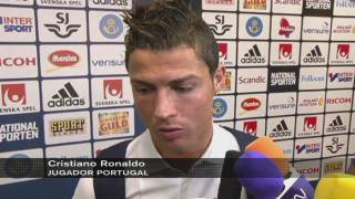 Cristiano Ronaldo classifica Portugal pel Mundial