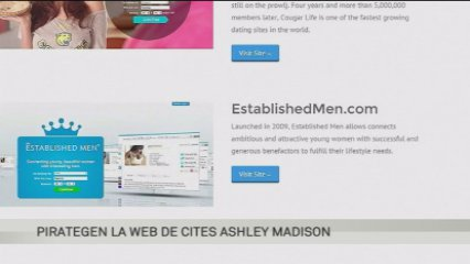 Pirategen el web de cites Ashley Madison