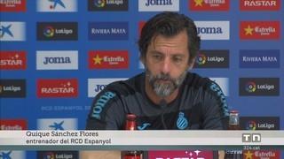 Quique Sánchez Flores confirma que la continuïtat de Diego López a l'Espanyol està molt a prop