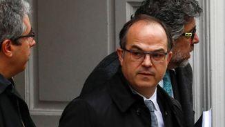 Jordi Turull en la seva compareixença anterior al Suprem (Reuters)