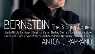 BERNSTEIN: The 3 Symphonies (Warner Classics)