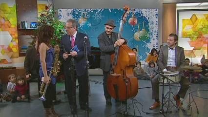 "Andrea Motis, la nova promesa del jazz, interpreta ""Love"""
