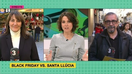 Black Friday vs. Fira de Santa Llúcia