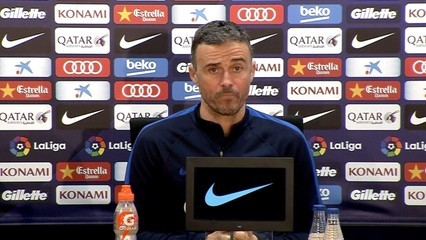 Luis Enrique valora l'enfrontament contra l'Athletic