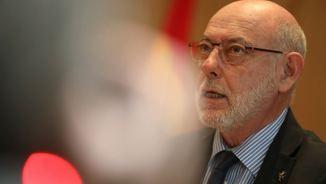 El fiscal general, José Manuel Maza