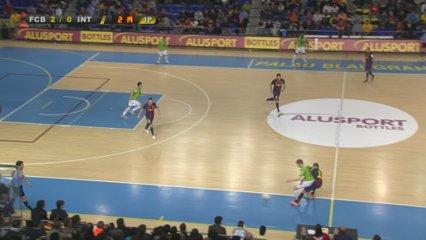 Barça Alusport, 5 - Inter Movistar, 0