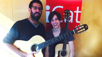 Adrià i Miki componen en directe