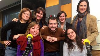 """Les 6 diputades amb Ricard Ustrell a """"El suplement"""""""