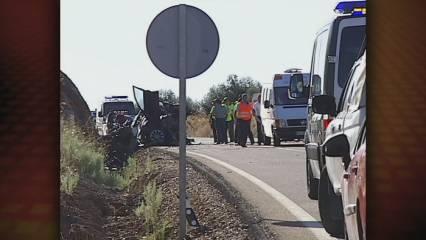Gravíssim accident a Badajoz