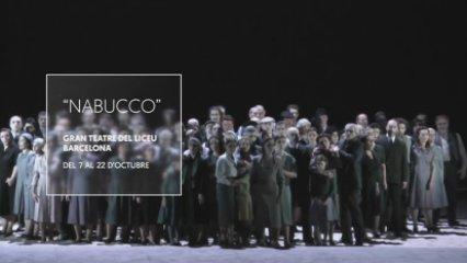 """Nabucco"" inaugura la temporada 2015-2016 del Liceu"