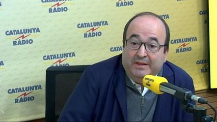 """Miquel Iceta: """"El meu pronòstic és que Puigdemont no es presentarà a la investidura"""""""