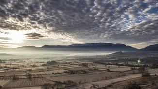 Núvols en augment a la Conca de Tremp (Jordi Peró)