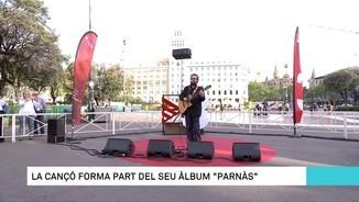 """Roger Mas interpreta """"Jordi"""", del disc """"Parnàs"""""""