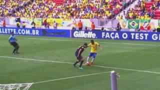 Neymar, estrella del Brasil-Austràlia