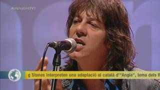 "Smoking Stones interpreten una versió d'""Angie"" en català"
