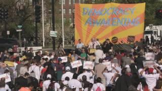 Setmana de protestes al Capitoli contra l'entrada de diners en la política