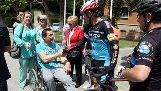 El ciclista atropellat, Josep Antoni Escuredo, ha rebut avui l'alta al Trueta (ACN)