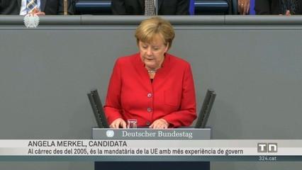 Angela Merkel, candidata del CDU