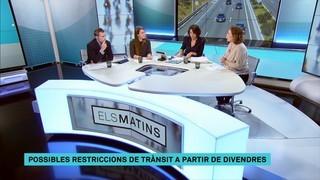 A partir de divendres es podran activar restriccions de trànsit a Barcelona quan es registrin episodis d'alta contaminació