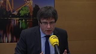"""Puigdemont: """"No es pot fer de president si un és presidiari"""""""