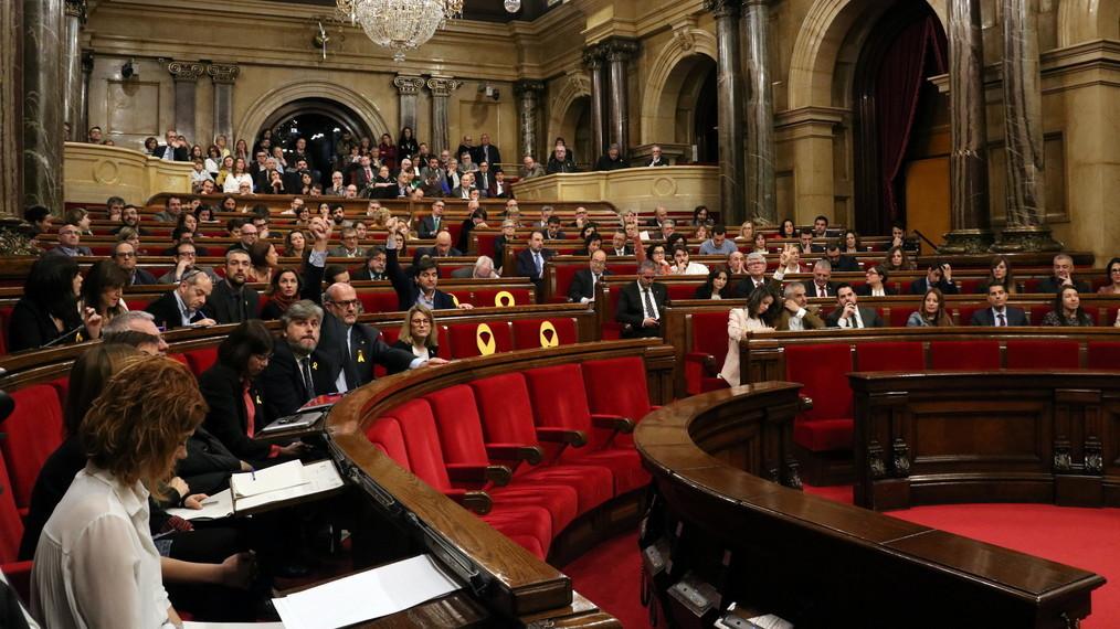 El ple del Parlament, aquest dimecres durant una votació (ACN)