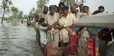 Primers brots de malaties infeccioses a Pakistan arran de les inundacions