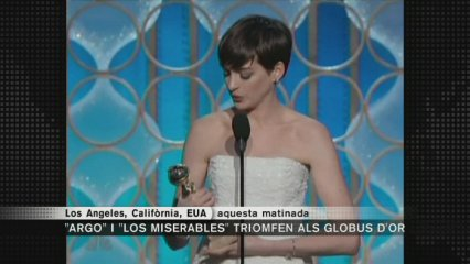 """Los miserables"" triomfa als Globus d'Or"