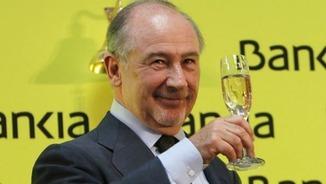 Rodrigo Rato, quan presidia Bankia