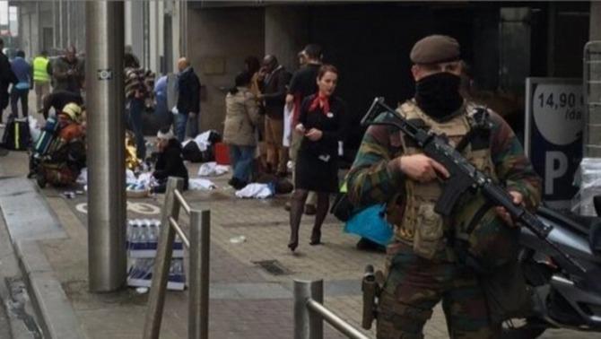 Bèlgica declara l'estat de màxima alerta antiterrorista i recomana a la població que no es mogui d'on és